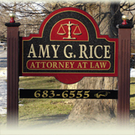 Amy Rice, Attorney at law 683-6555